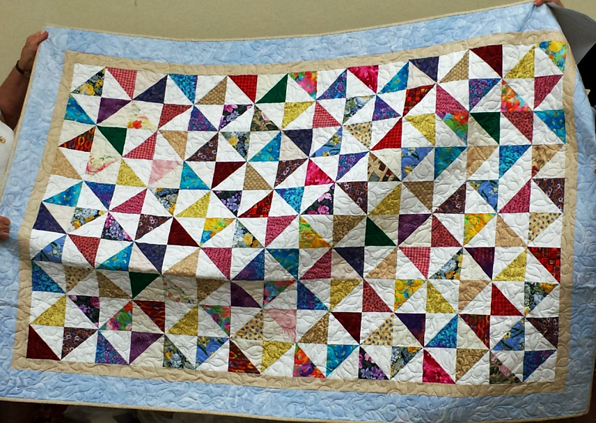 Quilt completed by VQC's Calgary Branch